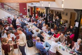 A full house at the first Sheffield Soup event